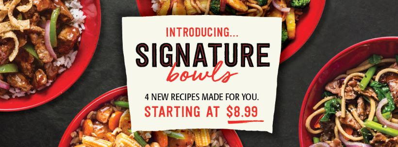 Introducing Signature Bowls