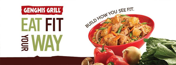 Genghis Grill Eat Fit Your Way
